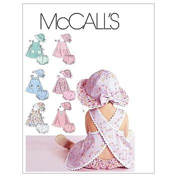 McCall's 6303 - Patrón De Costura Para Confeccionar Ropa De Bebé ...