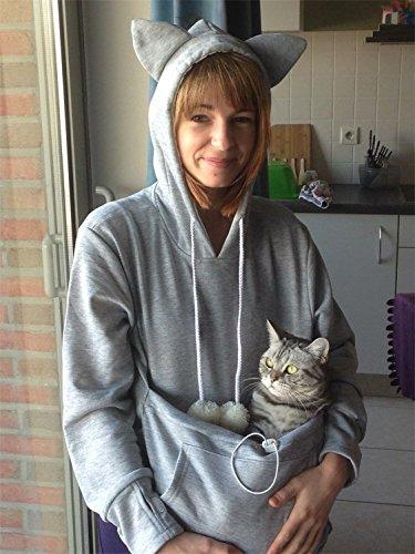 Canguro El gato Encapuchado,Mantener a su gato y perro