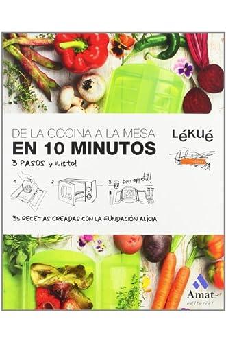De La Cocina A La Mesa En 10 Minutos: 3 Pasos Y ¿Listo!