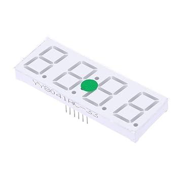winnereco Kit compacto de 4 dígitos DIY Reloj Digital LED FECHA de temperatura control de luz Ti: Amazon.es: Hogar