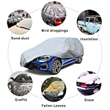 Leader Accessories SUV Cover Mid Grade 100% Dustproof UV Tree Sap Resistant Outdoor Car Cover Up to 187