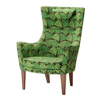 IKEA STOCKHOLM - sillón de respaldo alto, Mosta verde ...