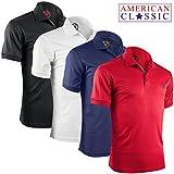 Albert Morris Mens Polo Shirts, Polo Shirts For Men, Shirts For Men, Short Sleeve Mens Shirts, American Classics, Medium