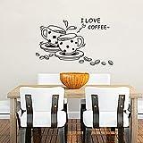 Big Bazaar Bazaar Coffee Restaurant Wall Sticker 3D Home Decration Art Wallpaper