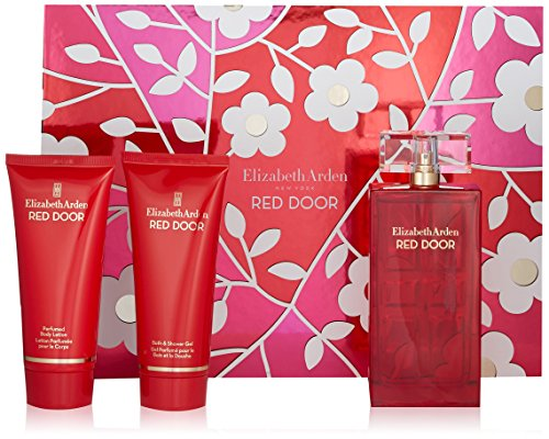 Red Door Gel Body Lotion - Elizabeth Arden Red Door 3 Piece Set, 3.3 oz.