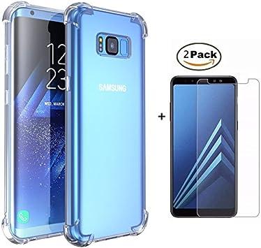 MISSDU Compatible con Funda Samsung Galaxy S8 Plus/S8+ Funda y ...
