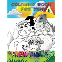 Coloring Book for Kids: Farm Animals