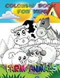 img - for Coloring Book for Kids: Farm Animals book / textbook / text book
