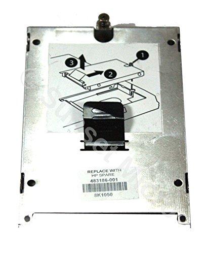 6735b Hp Pc Compaq (Genuine Original HP Compaq 6530b 6535b 6735b 6739b 6515b 6715b 6930P, 8530P Hard Drive Caddy Caddy 483186-001 491230-001 585416-001)