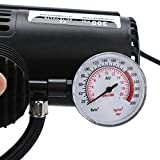 USHOT 12V Portable Mini Air Compressor 300 PSI Car