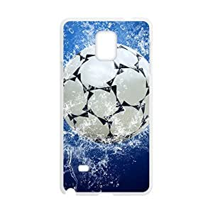 Happy Ocean Football Custom Protective Hard Phone Cae For Samsung Galaxy Note4