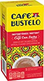 Cafe Bustelo Instant Cafe con Leche Flavored Coffee Beverage Mix, 5 ct