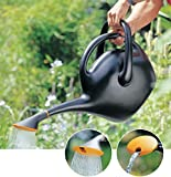 Bloem Easy Pour Watering Can, 2.6 Gallon, Black
