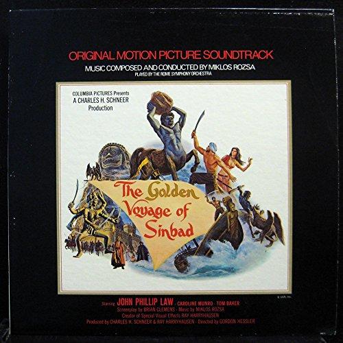 SOUNDTRACK THE GOLDEN VOYAGE OF SINBAD vinyl record