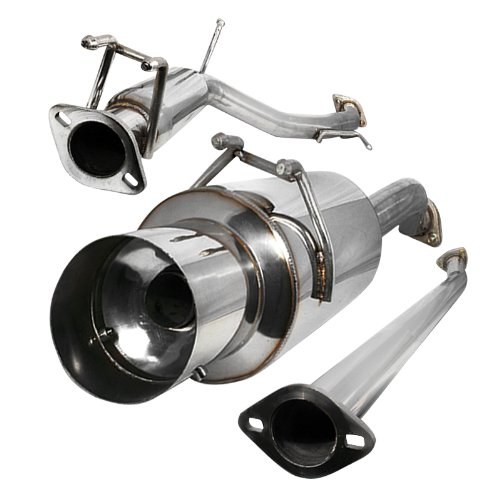 Spec-D Tuning MFCAT2-CV062SI Cat-Back Exhaust System
