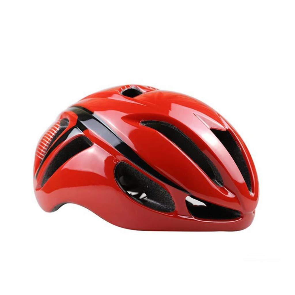 大人用ヘルメット一体型成型ユニセックス3Dライディング山自動車内蔵型車用ヘルメットヘルメット、頭囲57-62cmカラーに適しています (色 : Red, UnitCount : 10) B07KS2P7CD 10|Red Red 10