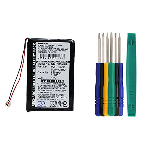 Cameron sino 850mAh Li-ion Rechargeable Battery IA1TA16A0 IA1W721H2 Replacement For Palm M550 TUNGSTEN T1 T2 T3 Zire 31 71 72 72S Handheld PDA With Tools Kit