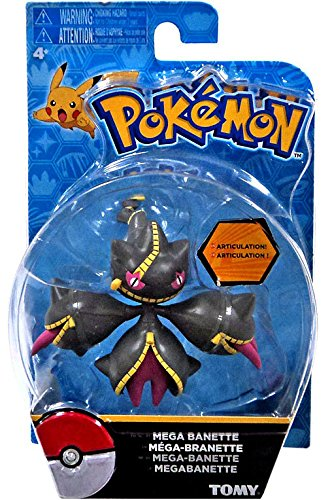 "Pokemon Action Pose Mega Banette 3"" Action Figure"
