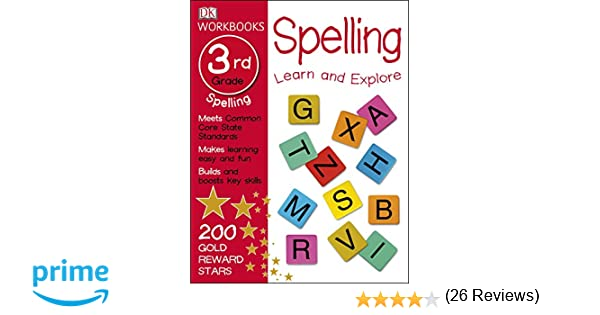 Counting Number worksheets free syllable worksheets : DK Workbooks: Spelling, Third Grade: DK: 9781465429131: Amazon.com ...