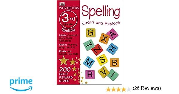 Workbook 2nd grade spelling worksheets : DK Workbooks: Spelling, Third Grade: DK: 9781465429131: Amazon.com ...