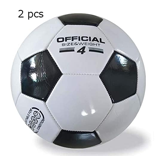 Fútbol ligero Balón de fútbol de 2 chicas para niños Tamaño ...