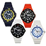 Casio Mens Diving Sport Analog Water Resistant Wrist Watch w/ Date - MRW-200HC