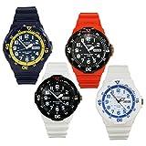 Casio Men's Diving Sport Analog Water Resistant Wrist Watch w/Date - MRW-200HC