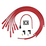 ACCEL 4040R 8mm Super Stock Copper Universal Wire Set - Red