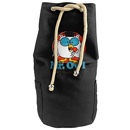 DIANA Adult Mr. Owl Travel Bag Outdoor Mountaineering Backpack Hiking Daypacks Travel Backpack Climbing Daypack Shoulder Bags Drawstring Sports Basketball Shoulders Backpack (Tootsie Roll Owl Costume)