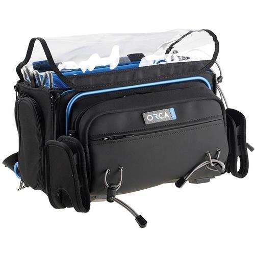 Orca OR-41 Audio Bag for Zaxcom Nomad/RX-12/Sound Devices 788T and CL-8 by ORCA Coolers