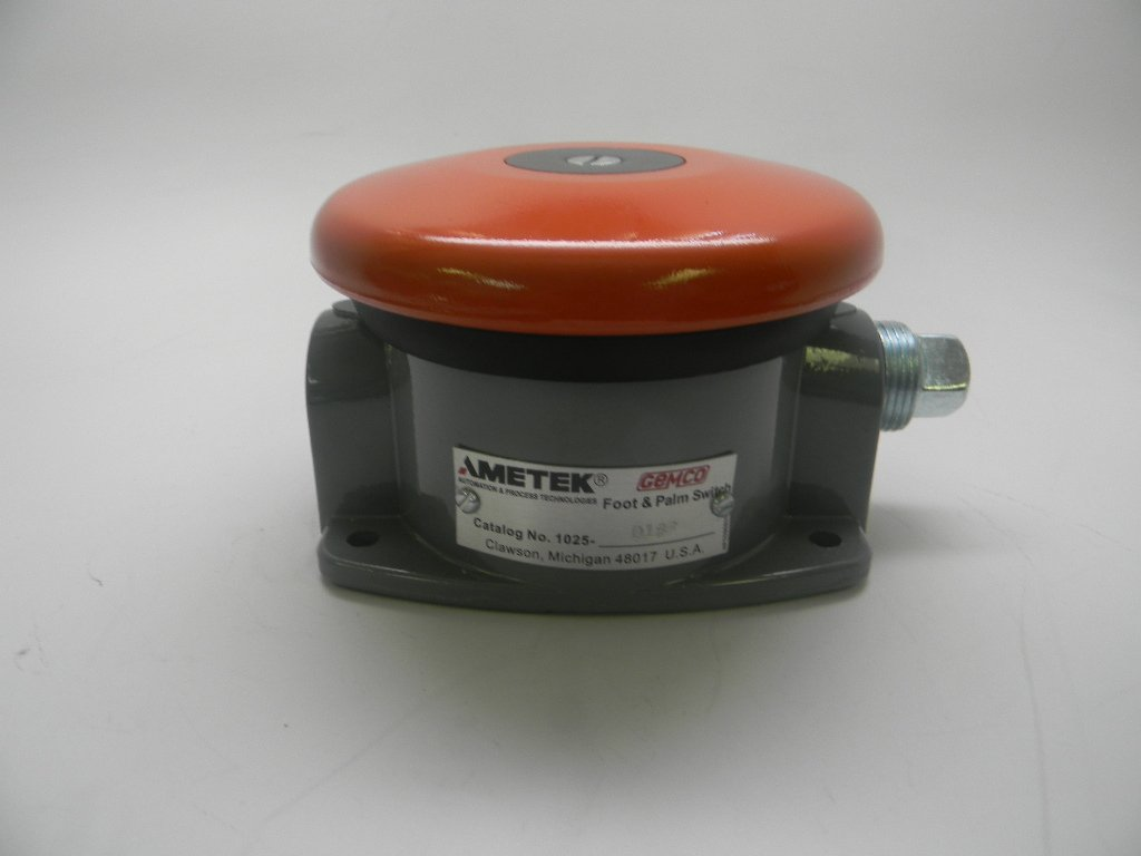 Ametek Gemco Palm & Foot Switch: 1025-D-1SP