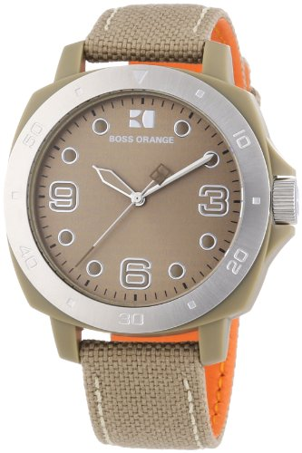 Hugo Boss 1502288 Womens Orange Dial Watch