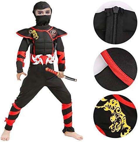 Halloween Ninja Costume for Boys Kids