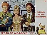 Road To Morocco, Bing Crosby & Dorothy Lamour, Bob Hope, 1942 - Premium Movie Poster Reprint 20