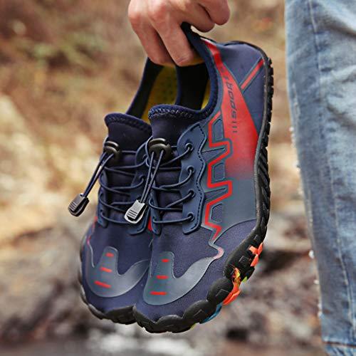Plongée Course couple Bleu Chaussures Sport Randonnée Respirant baskets Et chaussures chaussures Cross chaussures Dorical Chaussures homme De chaussures Léger femme chaussures 7Wqwffz6A