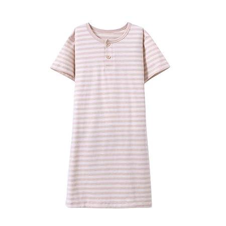 1ff0102a77 summerest Summer Pajamas 100% Cotton Unisex Childrens Nightie Nightgown  Pyjamas Nightdress Dresses Age 3-8 years old