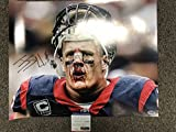 #5: JJ Watt Autographed Signed Houston Texans 16x20 Photo PSA/DNA COA & Hologram