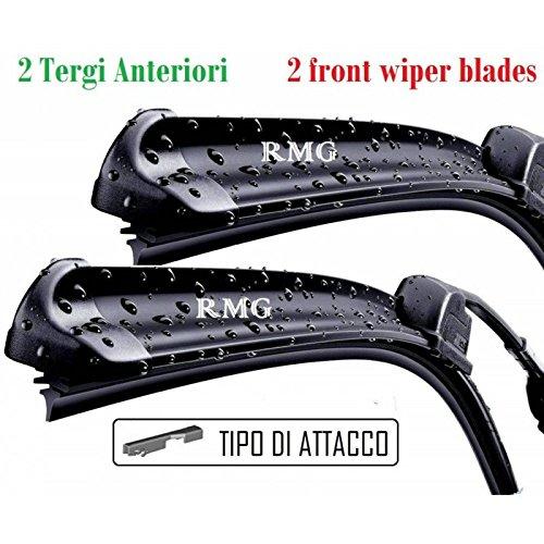 RMG F99 # 6 Par 2 escobillas limpiaparabrisas delanteras para Toledo III fabricado a partir de año 2004 al 2009 tamaños cepillos 65 y 65 cm: Amazon.es: ...