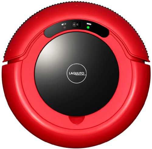 CCP [LAQULITO] automatic robot vacuum cleaner (entry model) red black CZ-860-RB by CCP