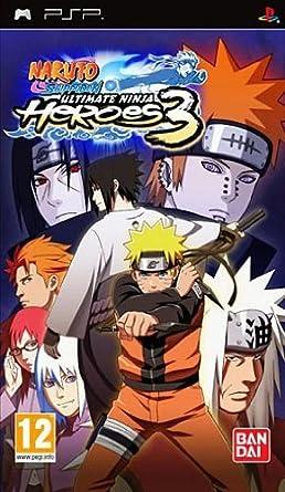 Naruto Shippuden Ultimate Ninja Heroes 3 [Importación ...