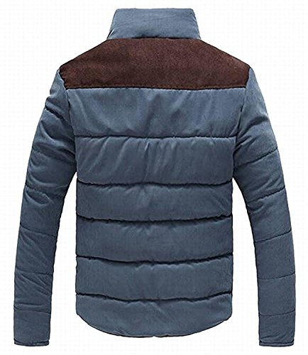 Mistere Men's Casual Thicken Warm Quilted Down Puffer Jacket Coat 1US-XL