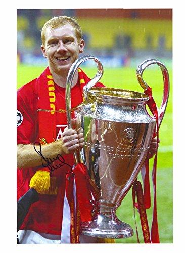 - Paul Scholes Manchester United Autographed 30