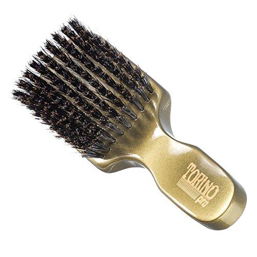 Torino Pro Wave Brush #890 By Brush King - Medium Hard 360 Waves Club Brush