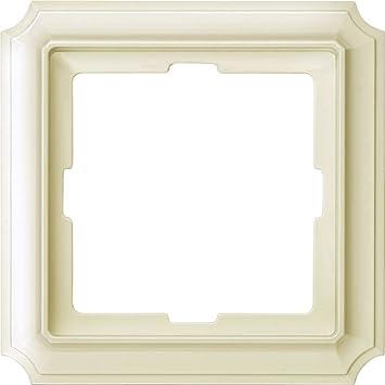 483144 Merten antique Cadre 1/compartiment Blanc