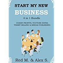 START MY NEW BUSINESS (4 in 1 Bundle): UDEMY PROFITS, YOUTUBE EXTRA, TSHIRT SELLING BIZ IN A BOX  & MAKE MONEY...