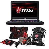 "MSI GT63 TITAN-046 Essential (i7-8750H, 16GB RAM, 1TB NVMe SSD + 1TB HDD, NVIDIA GTX 1080 8GB, 15.6"" Full HD 120Hz 3ms, Windows 10 Pro) VR Ready Gaming Notebook"