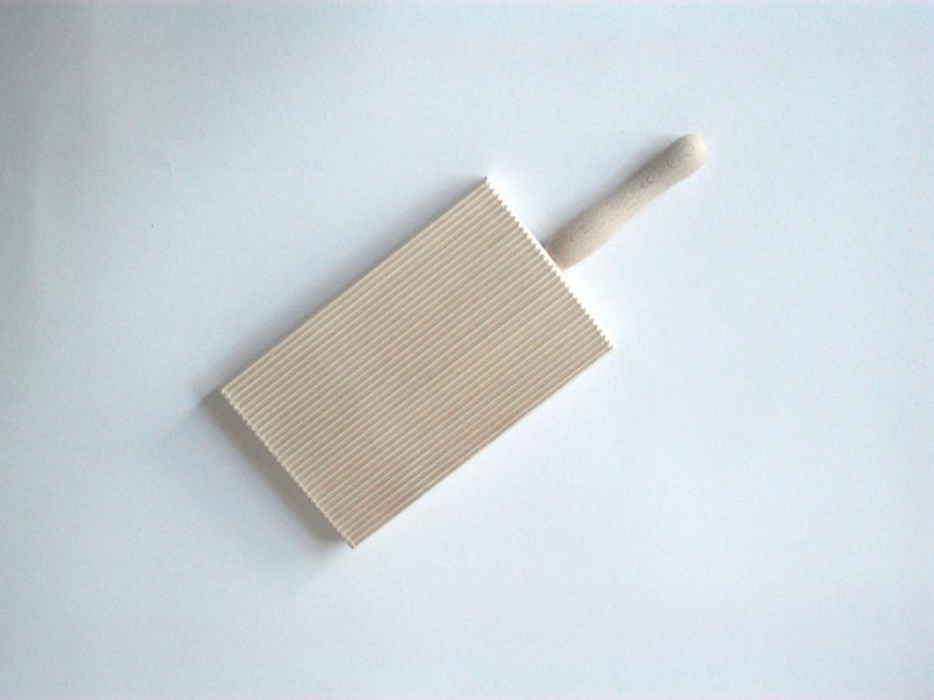 Panetta Casalinghi doppia faccia di legno gnocchi Board, legno, beige, 24 x 10 x 30 cm 24x 10x 30cm 28/1001
