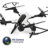Soar Sky Drone WiFi with HD Camera for Boys Gift Altitude Hold & 1-Key Takeoff/Landing 2.4GHz 6-Axis 4CH RC Quadcopter X33C