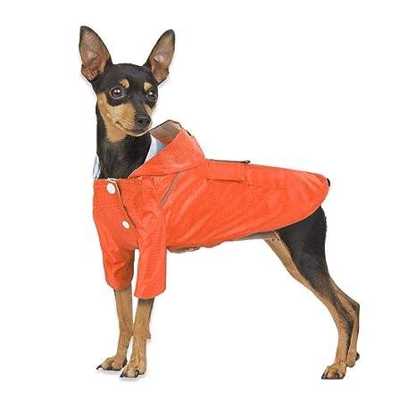 Hefine Chubasquero con capucha para mascotas – Impermeable al aire ...