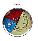 3 bbq smoker thermometer - Hongso 1-pack 3